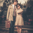 Stock Photo: Vintage couple