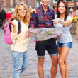 Young tourists — Stock Photo