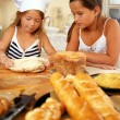Stock Photo: Children making pastry