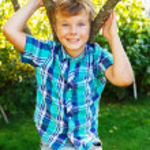 Children outdoor — Stock Photo