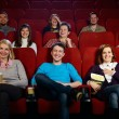 People in cinema — Foto Stock
