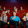 People in cinema — Stock Photo #32175365