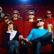 People in cinema — Stock Photo #32175413