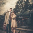 Vintage couple — Stock Photo #32175475