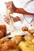 Pasta pişirme — Stok fotoğraf