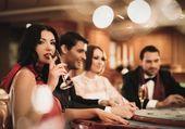 People in casino — Stock Photo