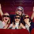 People in cinema — Stockfoto