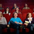 People in cinema — Stock Photo #32304263