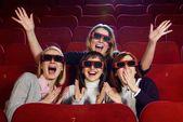 Ludzi w kinie — Zdjęcie stockowe