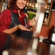 Barmaid — Stock Photo