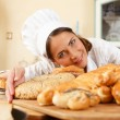 Stock Photo: Pastry cooking
