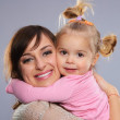 Mother with daughter — Stock Photo #33497943