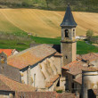 View over Lautrec village rooftops, France — Stock Photo