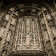 Decoration of entrance to Albi Cathedral, France — Stock Photo