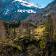 Pyrenees mountains in Cirque de Gavarnie, France — Stock Photo