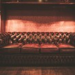 Leather sofa in vintage style luxury interior — Stock Photo #36577835