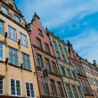 Colourful houses in old town of Gdansk, Poland — Stock Photo #36577843