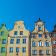 Colourful houses in old town of Gdansk, Poland — Stock Photo #36577851