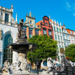 Stock Photo: Neptune's Fountain in Gdansk, Poland
