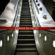Escalator out of order — Stock Photo