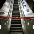 Escalator out of order — 图库照片