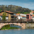 Bridge in Saint-Girons town, France  — Stock Photo