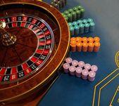 игровой стол в рулетке в казино — Стоковое фото