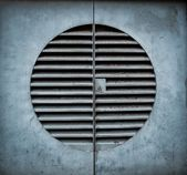 Ventilation shaft with a keyhole — Stock Photo