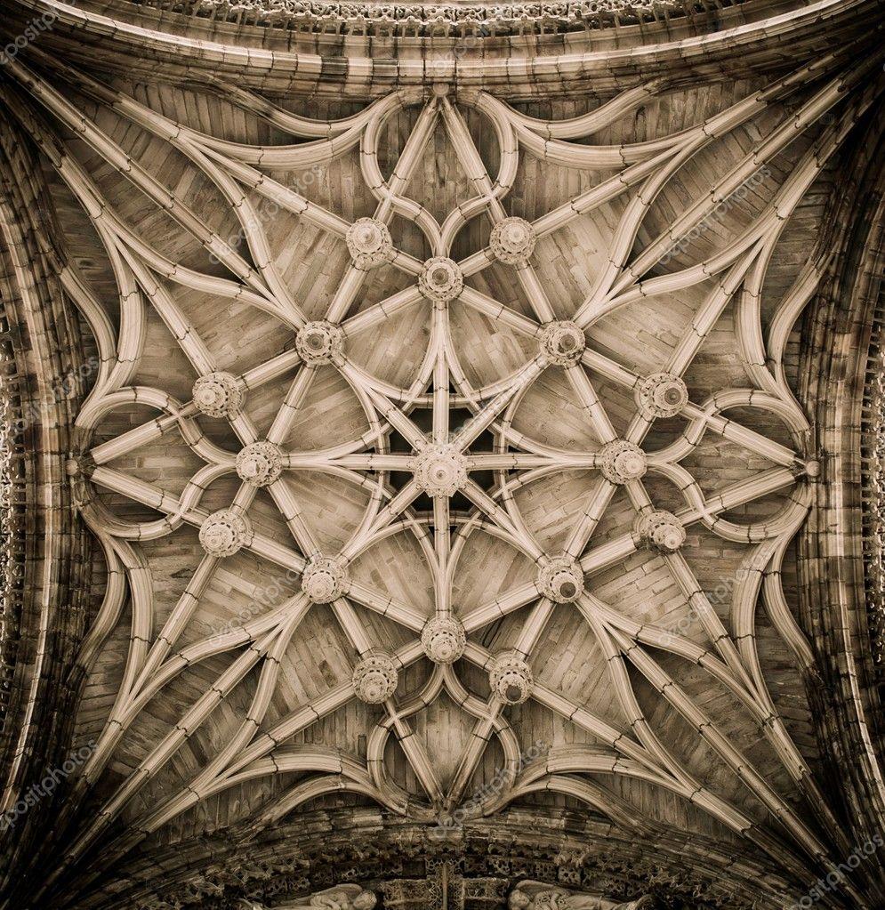 Decke dekoration der kathedrale von albi frankreich Dekoration frankreich