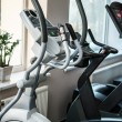 Exercise machines in a fitness club — Stock Photo