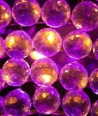 Colourful crystal balls background — Foto Stock