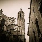 Santa Maria del Mar cathedral in Barcelona, Spain — Stock Photo #41872451