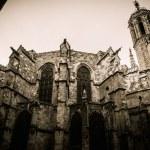 Santa Maria del Mar cathedral in Barcelona, Spain — Stock Photo #41872455
