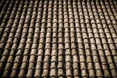 Old roof tile close-up — Stock Photo