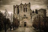 Church in Peratallada town, Costa Brava, Spain — Stock Photo