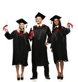 Graduated young students — Stock Photo