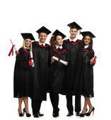 Multi ethnic group  students — Stock Photo