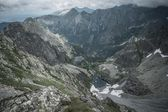 Mountain lakes in a High Tatras — Stock Photo