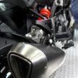 Exhaust pipe of motorcycle — Foto de stock #41744767