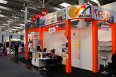 HANNOVER, GERMANY - MARCH 13: The stand of Malaysia on March 13, 2014 at CEBIT computer expo, Hannover, Germany. CeBIT is the world's largest computer expo — Stock Photo