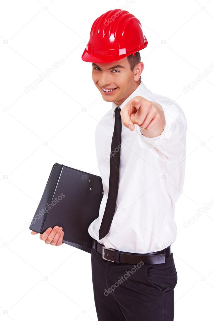 Work superintendent is choosing you! — Stock Photo #13184299