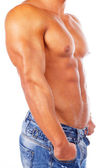 Image of Muscular male body — Stock Photo