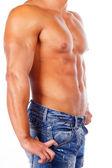 Afbeelding van hot mens lichaam — Stockfoto