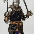 Fearless knight is ready to fight - Stock Photo
