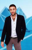 魅力的な自己自信を持ってアルメニア人 — ストック写真