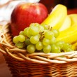 Basket full of fruits taken on macro mode — Stock Photo #34290333