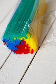 Straws for coctail — Foto de Stock