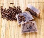 Pembe ve kahve kahverengi bileşimi — Stok fotoğraf