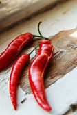 Chilli peppers taken on macro mode — Stock Photo