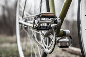 Bicycle pedals — Stock Photo